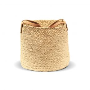 BASKET ROUND MENDONG SMALL NATURAL D27CM