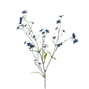 FLOWER FORGET ME NOT BLUE 65CM