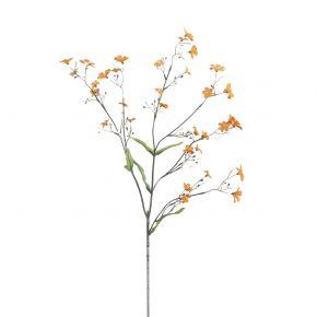 FLOWER FORGET ME NOT ORANGE 65CM
