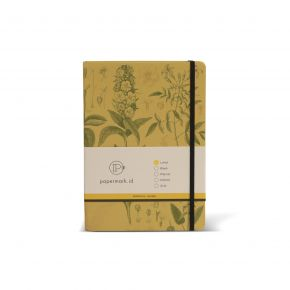BOOK NOTE CLASSIC BOTANICAL PM YELLOW A5 CSG