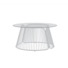 COFANO COFFEE TABLE GLASS - ROUND