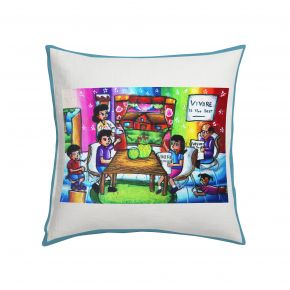 CUSHION CV FAMILY IS STRENGTH 45X45CM