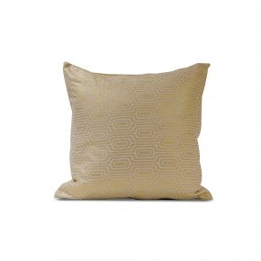 CUSHION COVER CHANDER GOLD WHITE 45X45CM