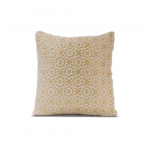 CUSHION COVER GAURIKA CREAM 45X45CM