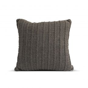 CUSHION COVER KNIT LINE INCHI DARK GRAY 45X45 CM