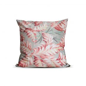 CUSHION COVER LEAVES MIXCOL 45X45 CM