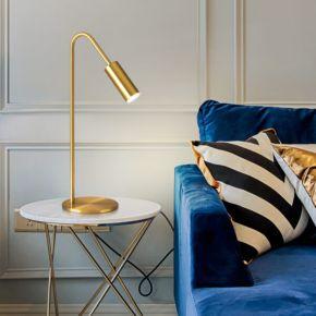 DESK LAMP BULBY GOLD D15X48CM