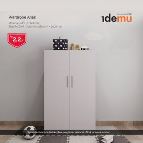 IDEMU WARDROBE KID MFC FOLK 18,9 H.256