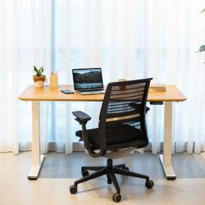 FLEX ADJUSTABLE DESK WITH THINK PACKAGE A