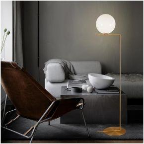 FLOOR LAMP BULBY GOLD D40X162CM