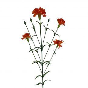 FLOWER CARNATION SPRAY DKORA 72CM
