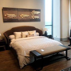 VIVERE x DBSTYLE BED SET DIAMO GREY KING