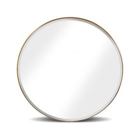 MIRROR SOFIA ROUNDY WITH BEVEL GOLD D75CM