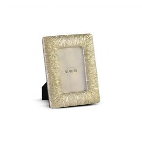 PHOTO FRAME DECO SPARKLING LT GOLD 4X6 INCH