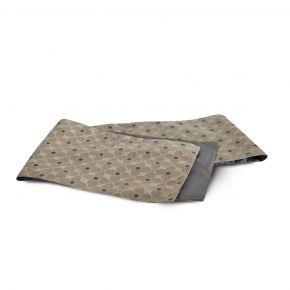 TABLE RUNNER FLOWDOTS GRAY 35X220CM