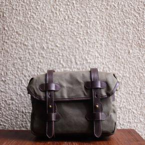 VIVERE x CRAVAR - HANDLER BAG OLIVE
