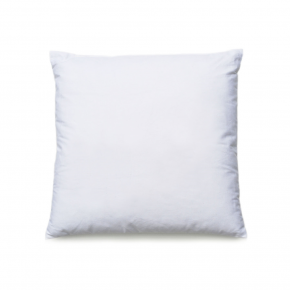 INSERT CUSHION D WHITE 45X45CM