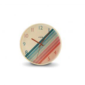 WALL CLOCK CEYDA MIX COLOR D30CM