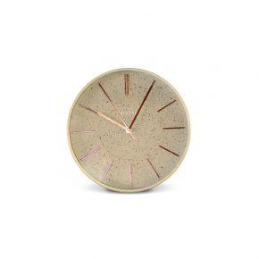 WALL CLOCK HARIKA GREY MINT D30CM