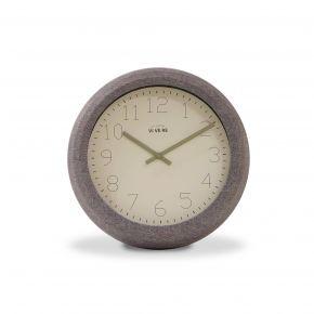 WALL CLOCK SIVA GRA 14CM